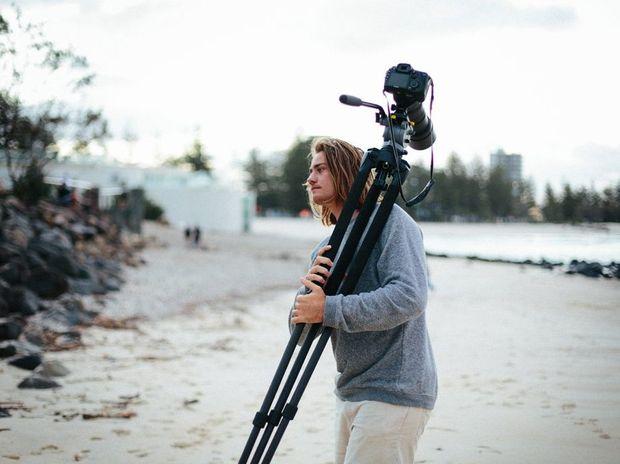 Filmmaker Darcy Ward is off to Fiji.