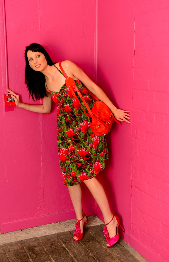 Alyssa Shaw models fashions from Something Different, including designs from Beau in the Woods. Photo Sharyn O'Neill / The Morning Bulletin
