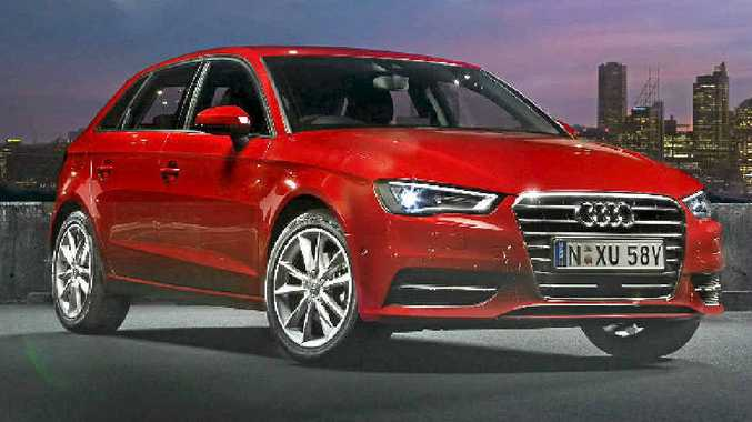 The new Audi A3 Sportback.