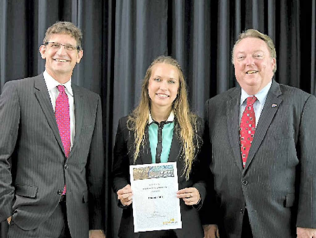 INDIGENOUS SUPPORT: Lauren Roth has won a nursing scholarship.