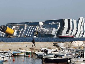 Captain didn't go down with Concordia, may now go to jail