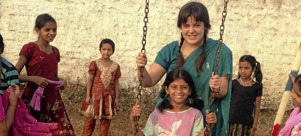 Erin Beatson wants to help the children of India.