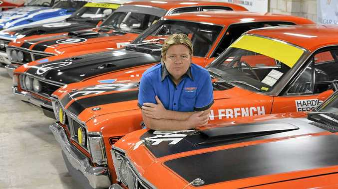 FALCON CENTRAL: Dan Bowden, with his Ford Falcon collection, mulls over the future without the iconic model.