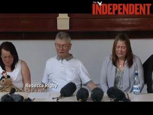 Slain soldier's family pays tribute