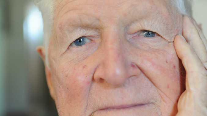 Bill Murphy suffers from wet macular degeneration.