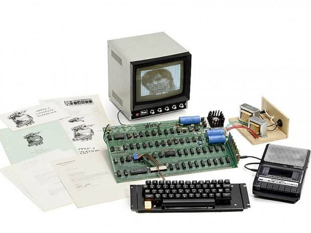 An anonymous Asian buyer snapped up the digital antique, which Jobs built in a family garage with Steve Wozniak, Apple's hardware-hacking engineer.