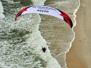 Paramotoring champion Chris Atkinson dies in flight fall