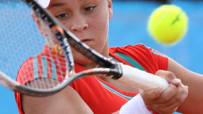 Ipswich tennis star Ashleigh Barty will take on the Czech Republic's Lucie Hradecka in the French Open first round tomorrow morning Ipswich time.