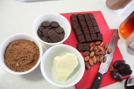 Making chocolate at home from raw ingredients Photo Megan Masters / The Chronicle