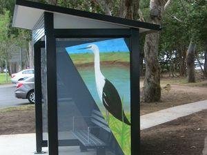 Majority of online voters want bird paintings on bus stops