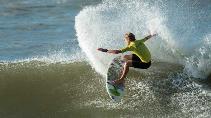 Emerald Beach surfer Jack Veale claimed victory on the weekend in the NSW Junior Regional Titles.