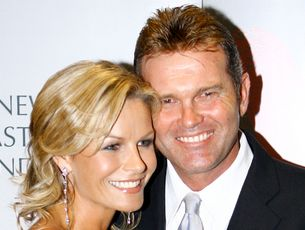 Martin Crowe says his wife, Lorraine Downes, is an amazing woman who has stayed positive and helped him through all of his chemotherapy treatments.