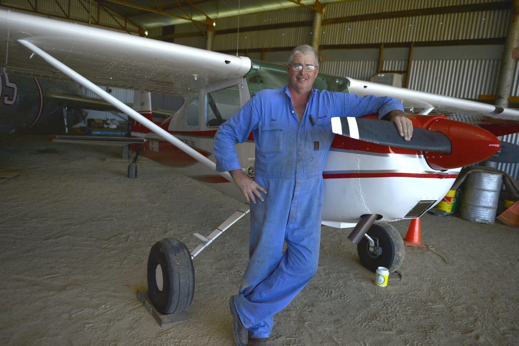 Kiwi and his Cessna 150.
