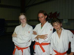 Local judo trio get trip of a lifetime