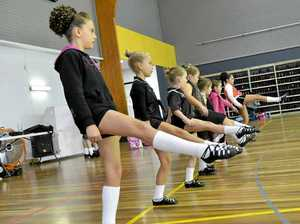 Irish dancers leap in to Gladstone workshop