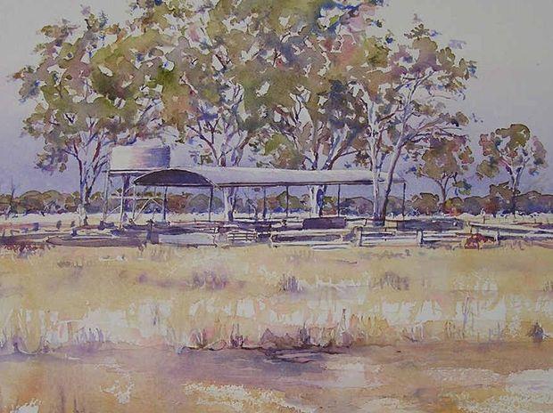 The colours and landscape of rural Australia have long been the inspiration for former Stanthorpe artist Belinda Perkin's work.
