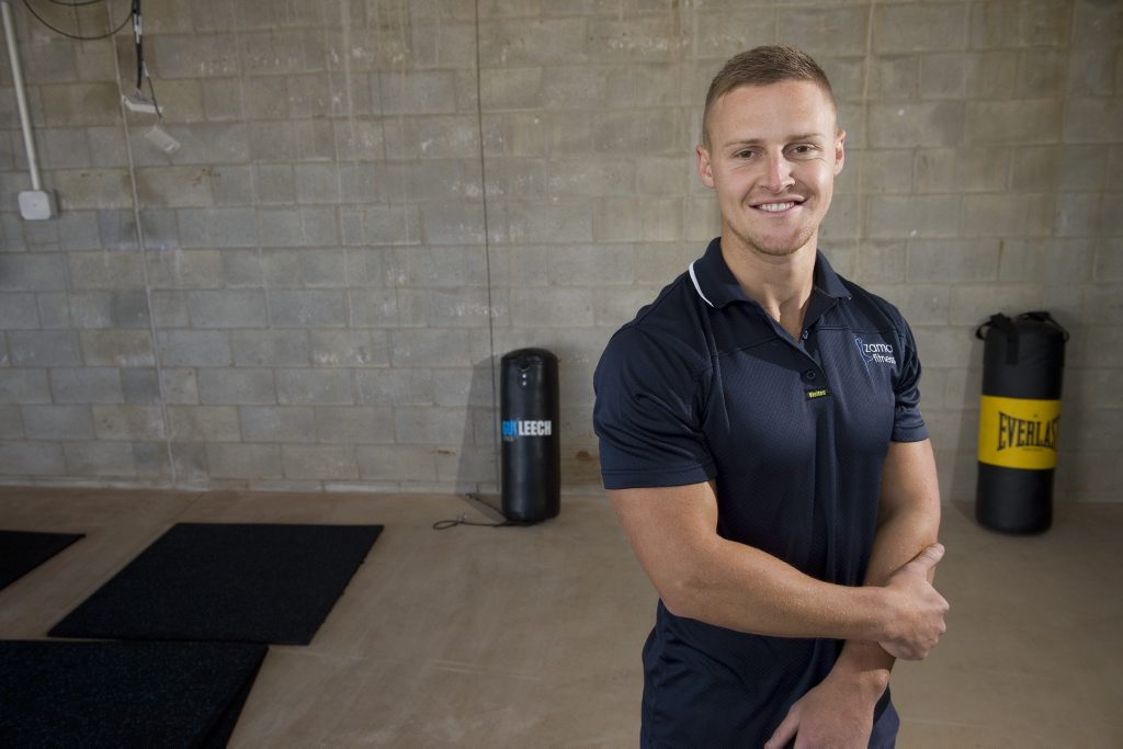 Zama Yoga and Fitness owner Ben Loxley is looking forward to opening a new space at the High Street Shopping Centre.