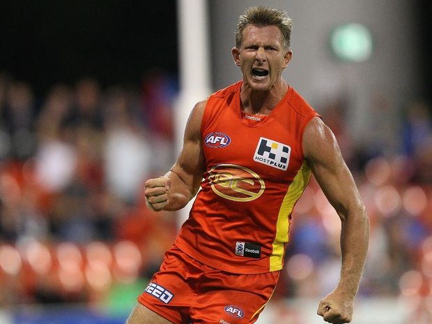 Nathan Bock of the Gold Coast Suns.