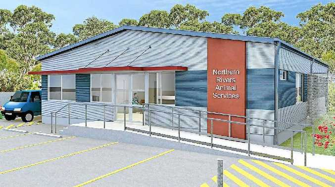 PET PROJECT: An architectural drawing of the proposed new animal shelter in Ballina, which would be operated by Northern Rivers Animal Services.