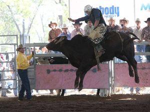 Rockhampton cowboy Shane Iker took out all rounder award