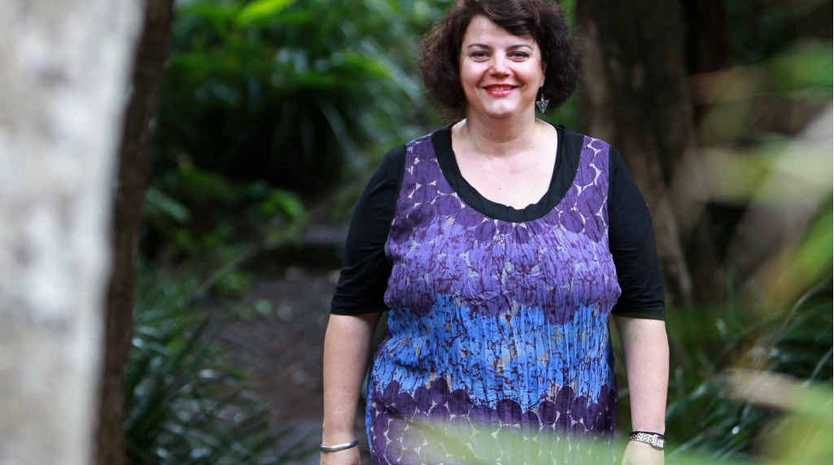 Nambour High School teacher Sherrin Justo, who has carcinoid cancer, will speak about courage at the Positive Schools Conference in Brisbane tomorrow.