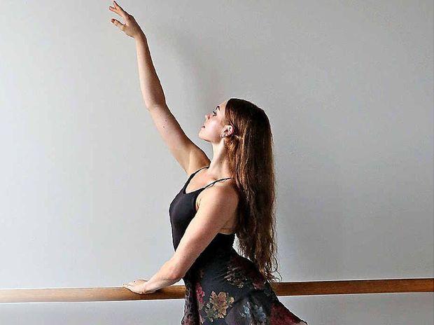 Queensland Ballet Company dancer Sophie Zoricic.