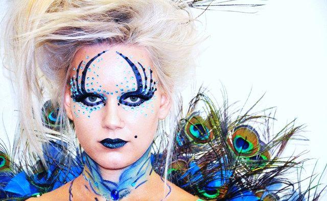The work of make-up artist Elisa Stefanovic.
