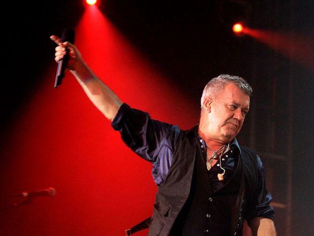 Australian rock legend Jimmy Barnes.