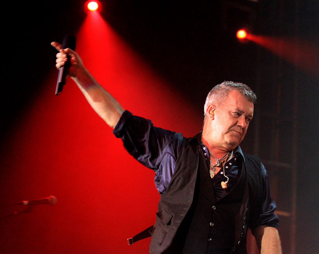 Australian rock legend Jimmy Barnes.