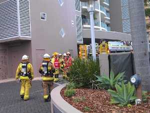 Mystery over cause of fire in Maroochydore apartment block