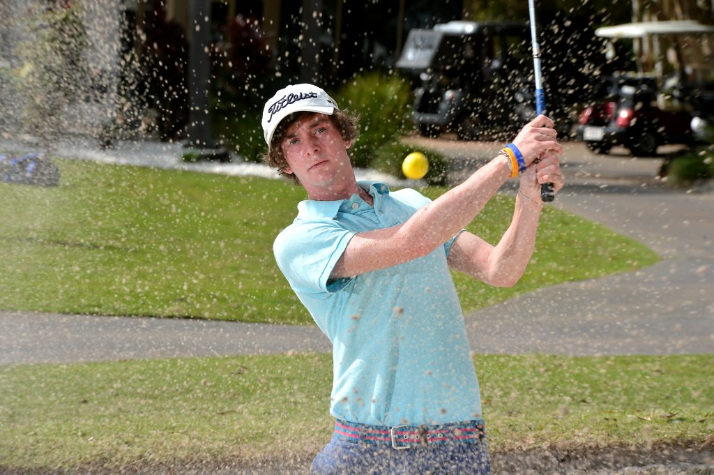 After accepting a scholarship in the US, Luke Parker will be based about 25km from Augusta National.