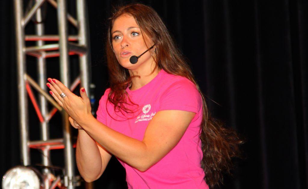 Motivational speaker Katie Pistis. Photo: Contributed