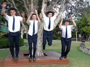 Awesome foursome make elite study camp