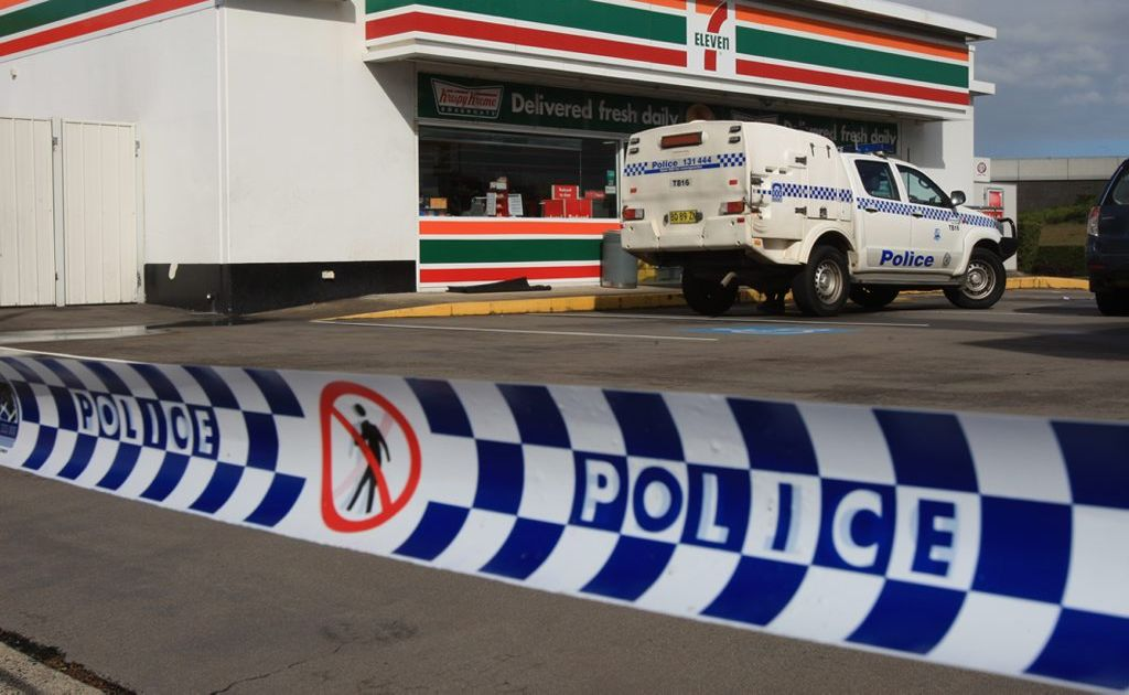 Tweed 7-Eleven was robbed over night.