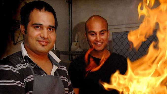 Bollywood Bites chef Bikram Singh and owner Ricky Kaushal find Mackay a friendly city.