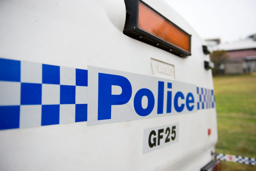 Bashing police crime scene at Edgar st coffs jetty area Photo: Trevor Veale / The Coffs Coast Advocate