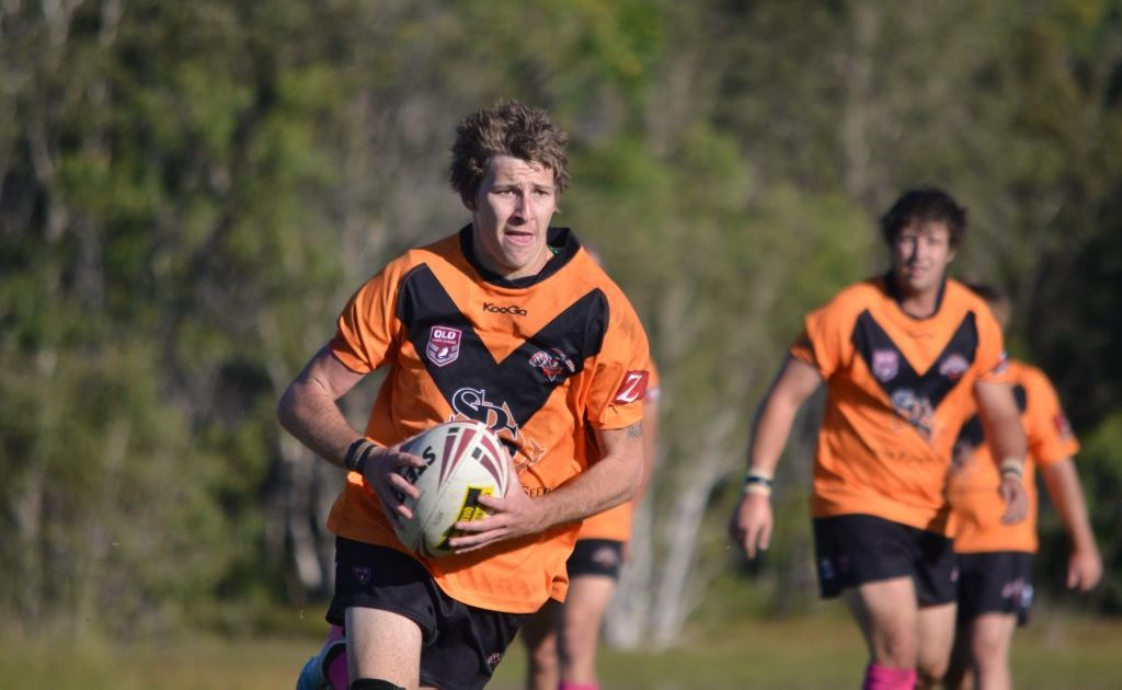 ATTACK MINDED: The Avondale Tigers backs are seeing more of the ball with more go-forward in the pack.