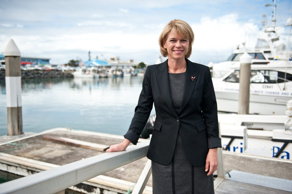 The Hon. Katrina Hodgkinson MP, Minister for Primary Industries and Small Business was in town to unveil North Coast Fisheries at the Marina.