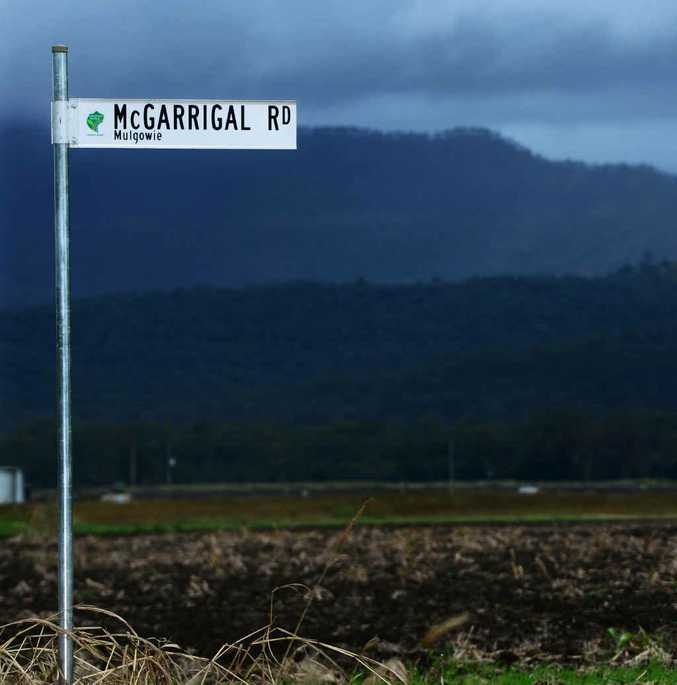 BEAST BEAT: Site of Yowie sighting at McGarrigal Rd near Mulgowie.