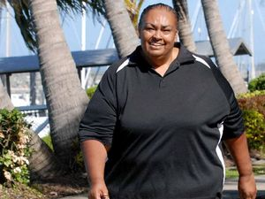 Tracey is determined to cross finish line after losing 35kg