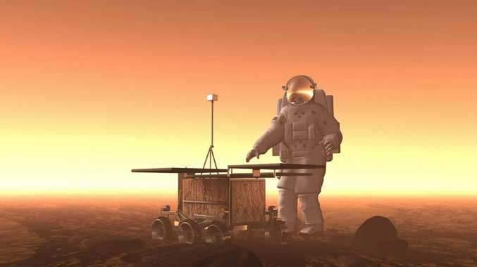 A study has found that astronauts will receive more than half a lifetime's radiation dose during the return journey of a future manned mission to Mars