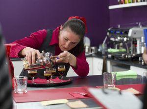 Blazing baristas go head to head