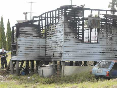 The burnt-out property
