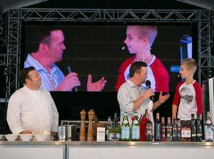 Hayden sets his cooking career on track at Noosa food fest