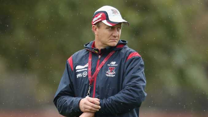 Melbourne Demons coach Mark Neeld.
