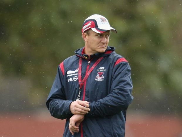 Melbourne Demons coach Mark Neeld.