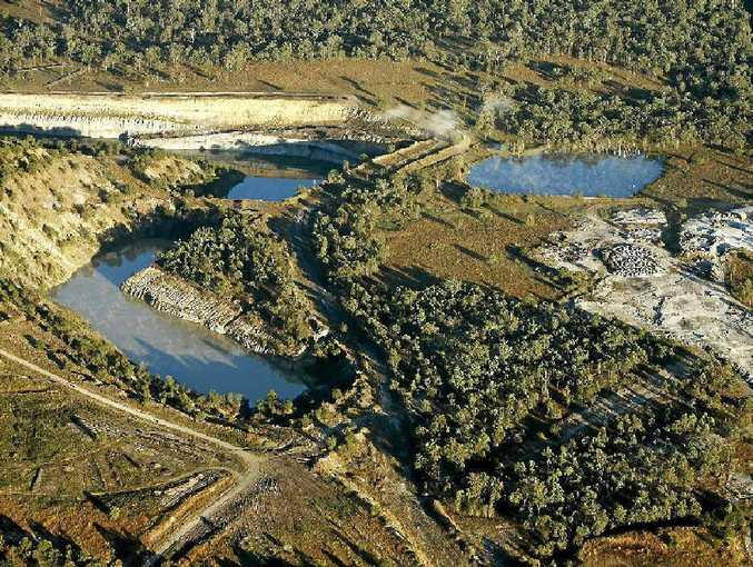 Ebenezer coal mine.