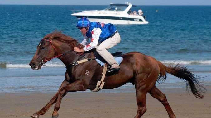 Mackay Beach Horse Racing Festival.