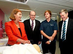 Governor of Queensland opens new SCU building