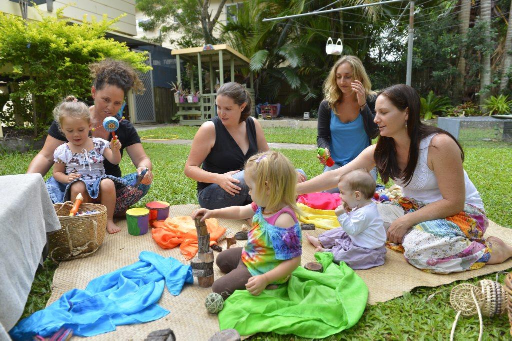 Carol Amai, Jade Potton and Victoria Shearer are organising a Steiner education program in Gladstone.